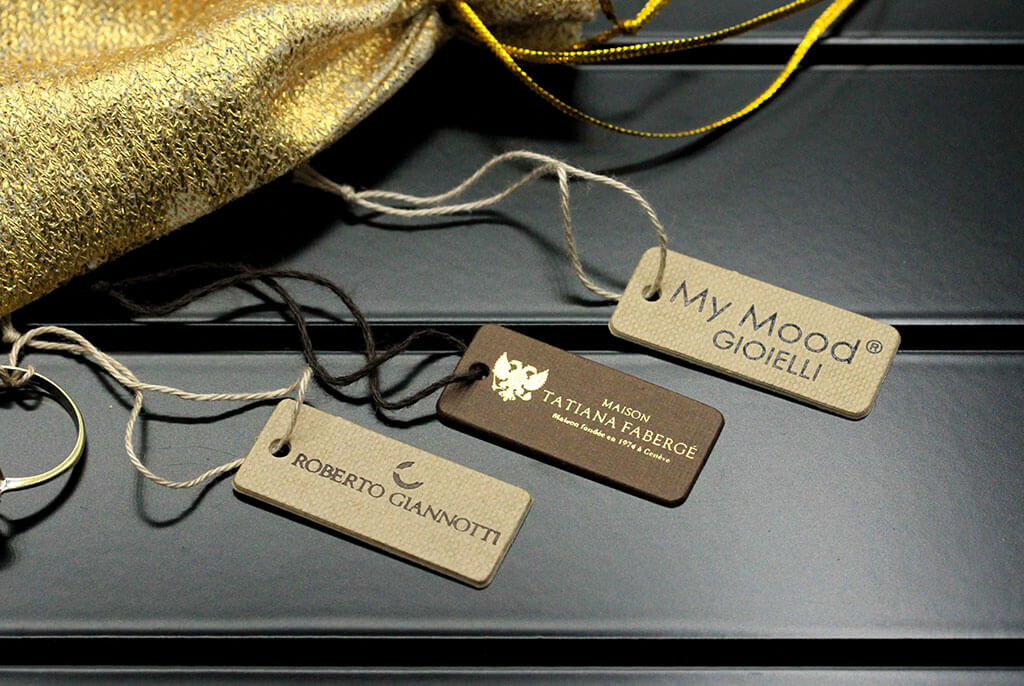 cardstock labels for jeweller
